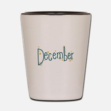 December Shot Glass
