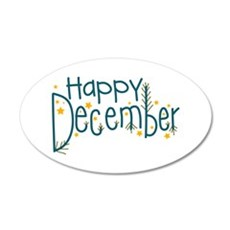 Happy December Wall Decal