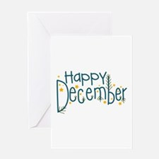 Happy December Greeting Cards