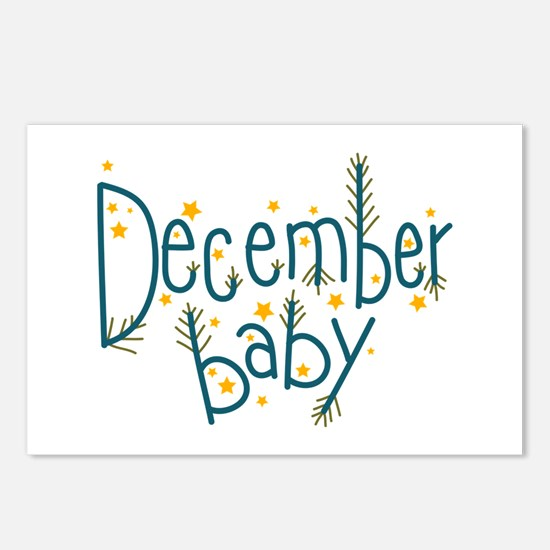 December Baby Postcards (Package of 8)
