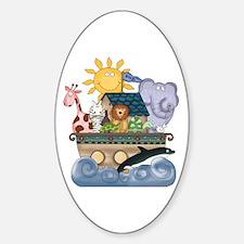 Noah's Ark Oval Decal