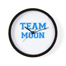 TEAM MOON Wall Clock