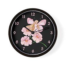 Flower Fairy- Wall Clock