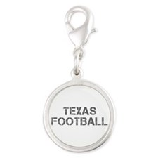 TEXAS football-cap gray Charms
