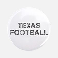 """TEXAS football-cap gray 3.5"""" Button"""