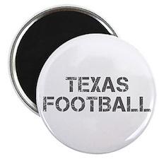 TEXAS football-cap gray Magnets