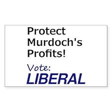 Vote Liberal Stickers