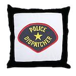 Police Dispatcher Throw Pillow