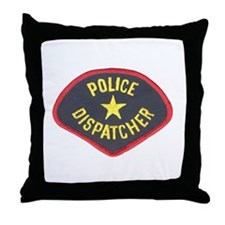 Police Dispatcher Throw Pillow