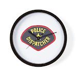 Police Dispatcher Wall Clock