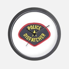 Police Dispatcher Wall Clock