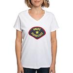 Police Dispatcher Women's V-Neck T-Shirt