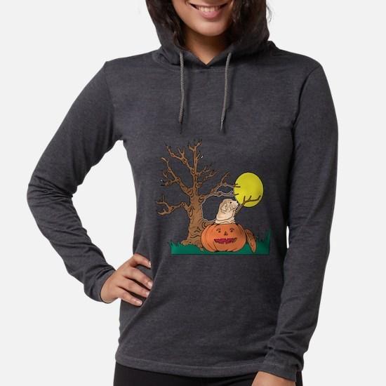 Halloween Pumpkin SharPei Long Sleeve T-Shirt