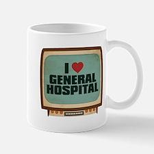 Retro I Heart General Hospital Mug