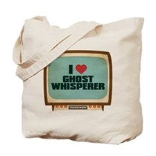Retro I Heart Ghost Whisperer Tote Bag