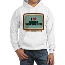 Retro I Heart Ghost Whisperer Hoodie