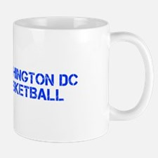 WASHINGTON DC basketball-cap blue Mugs