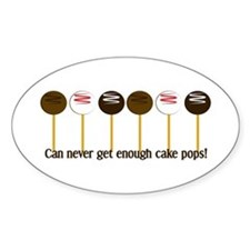Can never get enough cake pops! Decal