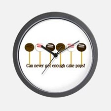 Can never get enough cake pops! Wall Clock