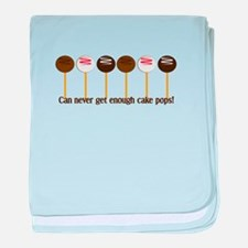 Can never get enough cake pops! baby blanket