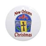 Matisse Style New Orleans Round Ornament