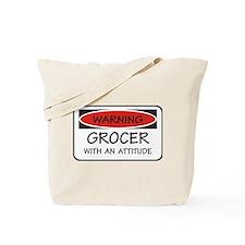 Attitude Grocer Tote Bag