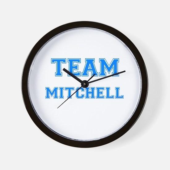 TEAM MITCHELL Wall Clock