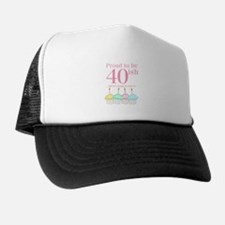 40ish Birthday Trucker Hat