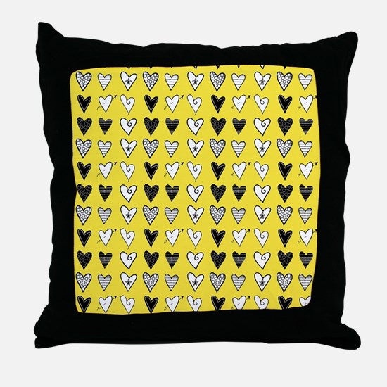 Heart Explosion Throw Pillow
