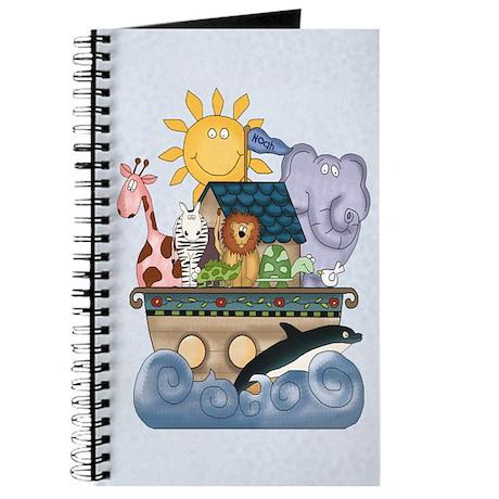 Noah's Ark (blue) Journal