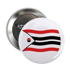 """Arapaho Tribe Flag 2 2.25"""" Button (100 pack)"""