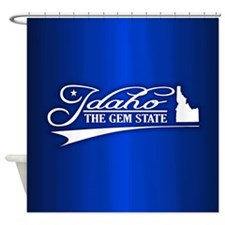 Idaho State of Mine Shower Curtain