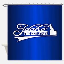 Idaho State of Mine Shower Curtain