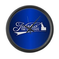 Idaho State of Mine Large Wall Clock