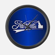 Idaho State of Mine Large Wall Clock