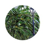 Banana Trees Ornament (Round)