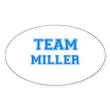 TEAM MILLER Oval Decal