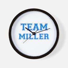 TEAM MILLER Wall Clock