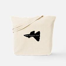 Black Guppy Tote Bag