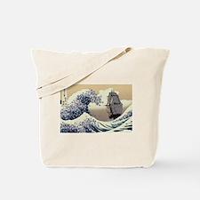 Japaneses Waves Tote Bag