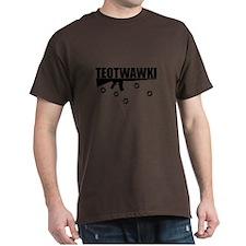 TEOTWAWKI Black T-Shirt