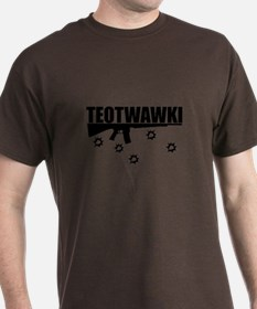 TEOTWAWKI Black T-Shirt