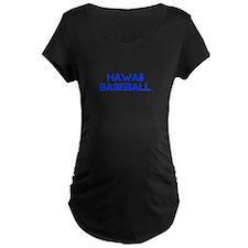 HAWAII baseball-cap blue Maternity T-Shirt