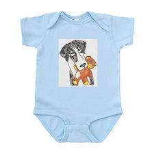 N MtlMrl Love My Teddy Infant Bodysuit
