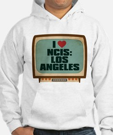 Retro I Heart NCIS: Los Angeles Hoodie