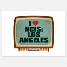 Retro I Heart NCIS: Los Angeles Invitations