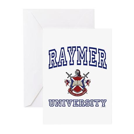 RAYMER University Greeting Cards (Pk of 10)