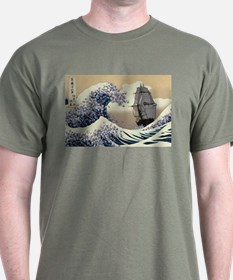 Japaneses Waves T-Shirt