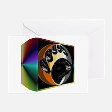 BEAR PRIDE IN PRISM BOX Greeting Cards (10 Pack