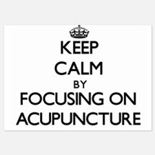 Keep Calm by focusing on Acupuncture Invitations